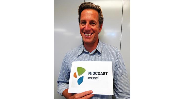 Andrew Watt likes the contemporary look of the new MidCoast logo.