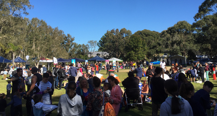 A crowd over over 3000 turned out to celebrate at Murrook.