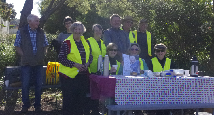 Corlette Landcare Group.
