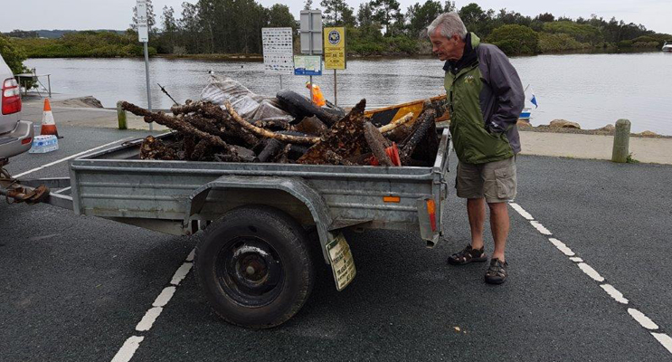 RIVER RUBBISH: Myall River Clean-Up.