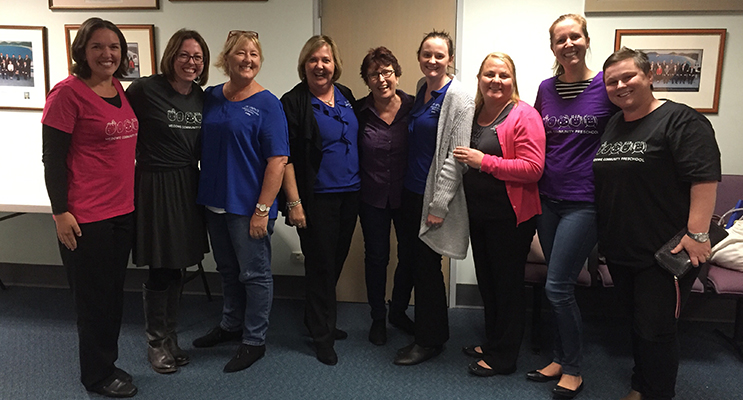 Passionate staff and committee members after the successful Port Stephens Council Meeting.