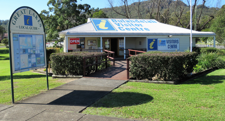 The Bulahdelah Visitors Information Centre is entirely self-funded.
