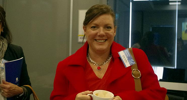 Port Stephens Women In Business President Kylie Smilie.