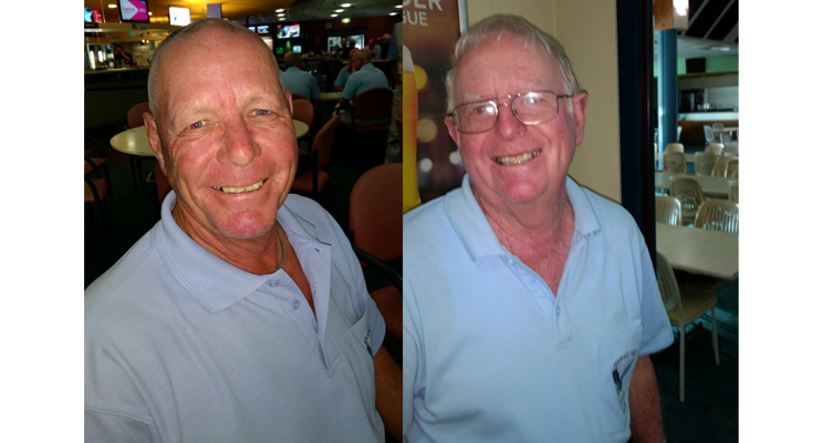 Bruce Clayton A Grade winner.(left) Kevin Durham B Grade winner. (right)