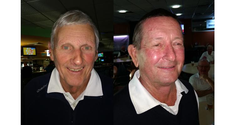 A Grade winner Breton Gibbs.(left) B Grade winner Michael Ross.(right)