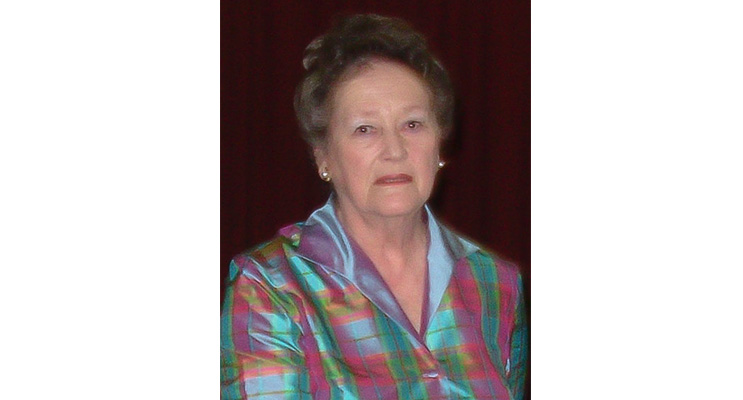 The First President of Nelson Bay View Club Mrs Lee Clarke.