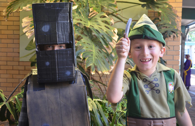 Ned Kelly is Darcy Wilton and Peter Pan is Liam Mitchell.