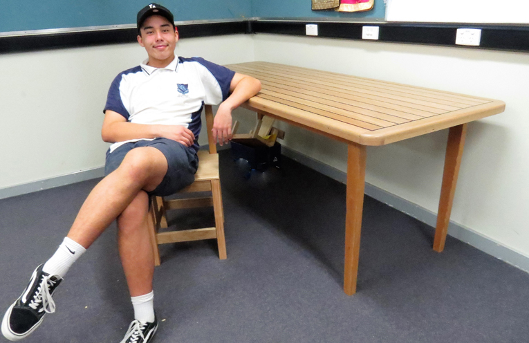 Hsc Projects Showcase Woodworking Skills At Bulahdelah
