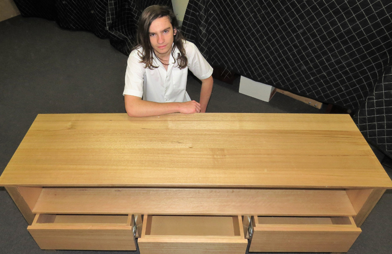 Hsc Projects Showcase Woodworking Skills At Bulahdelah Central School