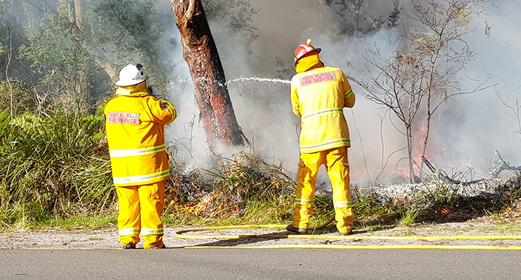 HAWKS NEST: Hazard Reduction Burn.