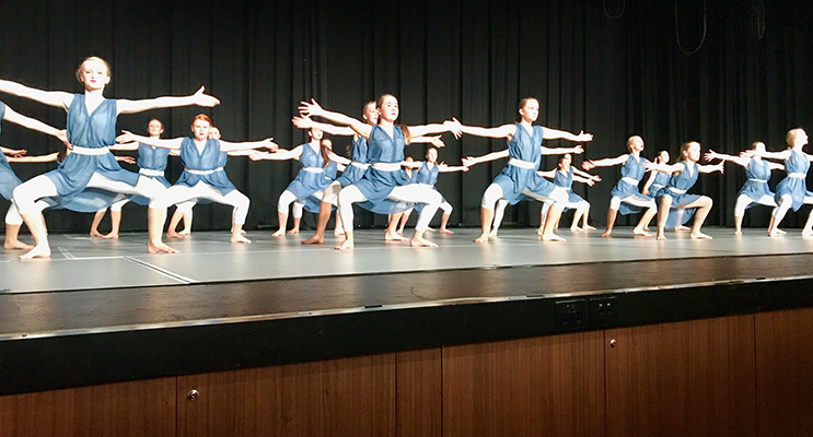 Irrawang high during their impressive performance.