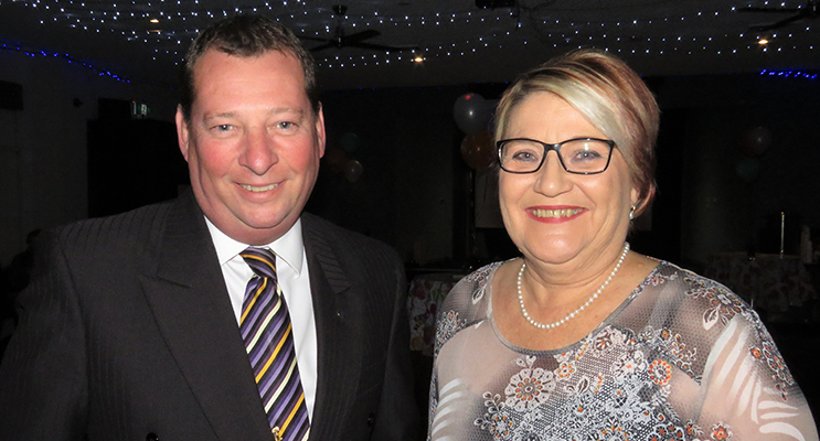 Anglican Care CEO Colin Osborne and Residential Care Manager Kath Freihaut.
