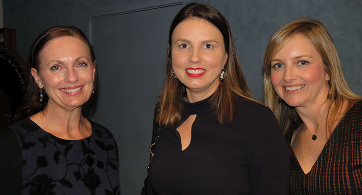 Anglican Care Marketing Manager Kylie Jacques, Megan Smith and Anglican Care Coordinator Michelle Payne.