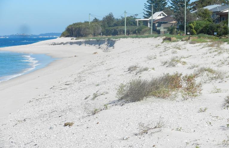 SAND DUMP: Jimmys Beach.