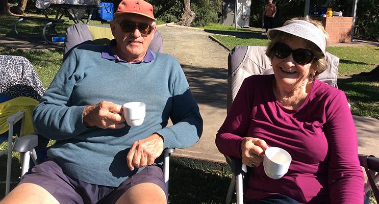 Eric and Maureen Platzer.