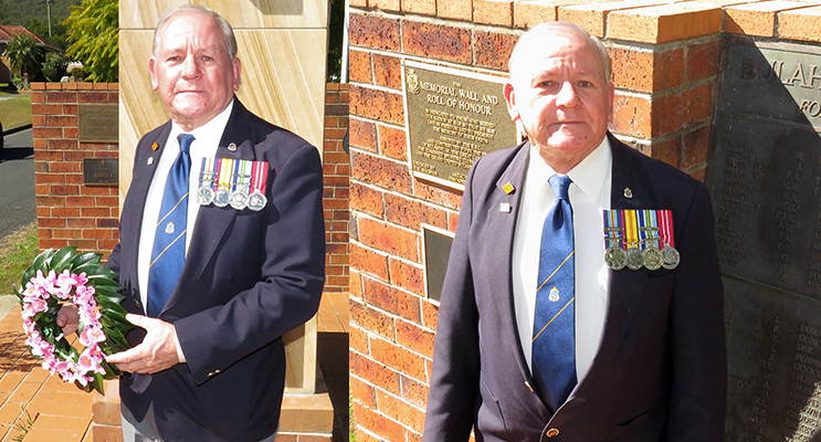 Peter Millen said Vietnam Veterans Day is a time to honour all those who served. (left) Peter Millen said all veterans should be recognised equally.  (right)