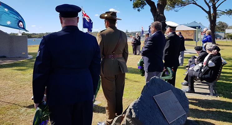 ANZAC PARK: Vietnam Veterans Remembrance Day.