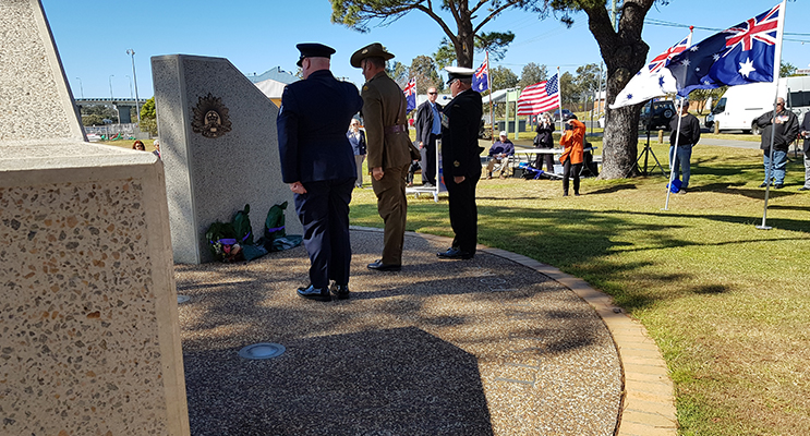 ANZAC PARK: Vietnam Veterans Remembrance Day.