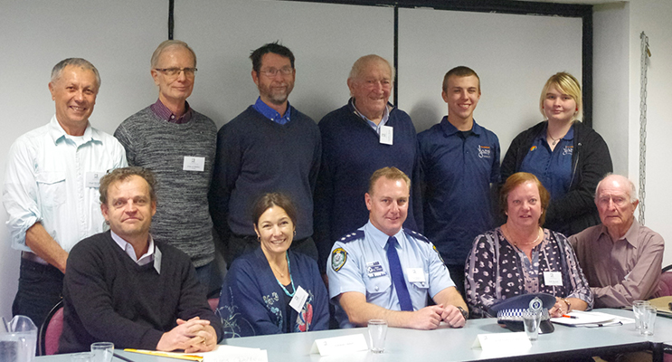 COPSY team members committed to making a difference. Back Row Paul McQuarrie, John de Riddle, Matt Clemente, Geoffrey Basser, Brayden Milford and Mahaylia Soars and front row, James Campbell, Rebekah Hedger, Paul Dogerty and Julie Bartsch.