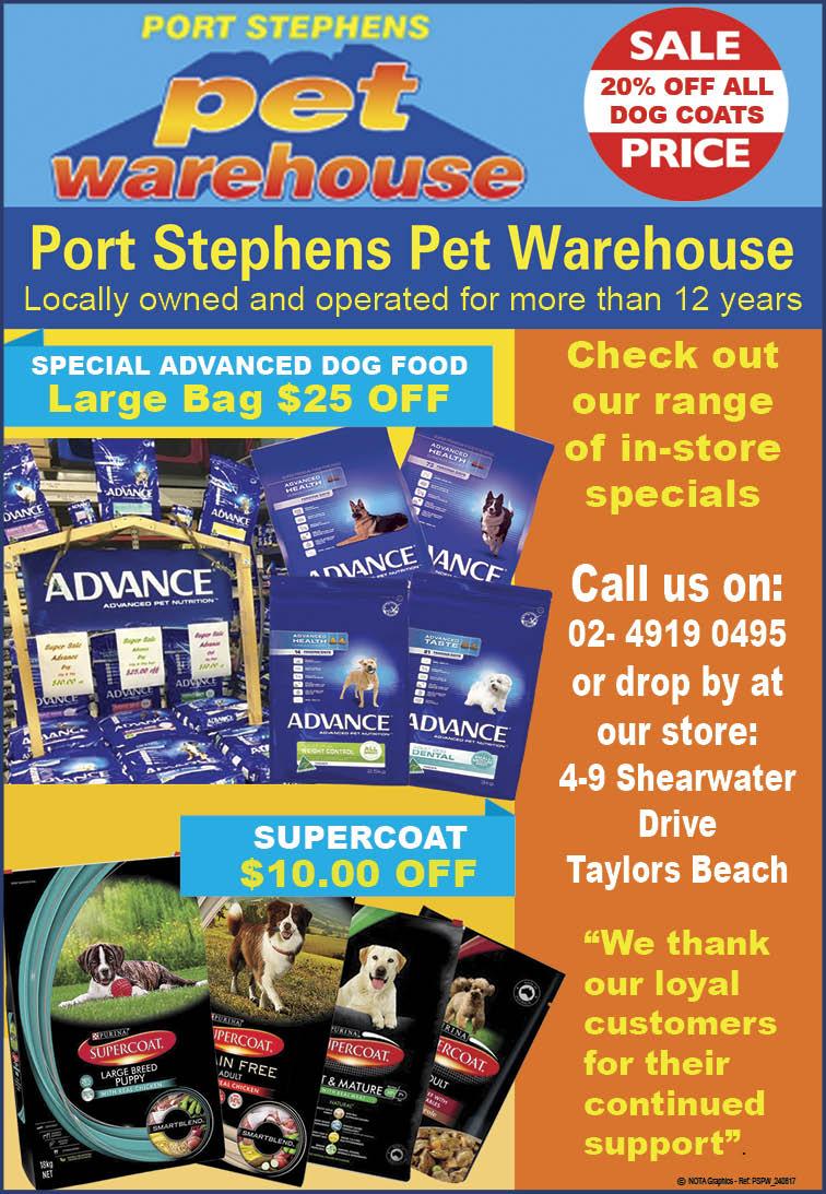 Port Stephens Pet Warehouse