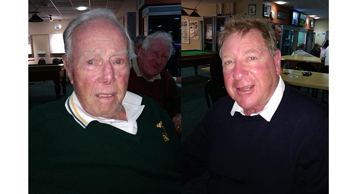 A Grade Winner John McKenzie. (left) B Grade winner Peter Campbell.  (right)
