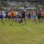 Parkrun is a weekly fun run held all over the world including Fingal Bay