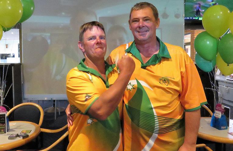 Zone Champions: Guy Rowe and Glenn Grainger