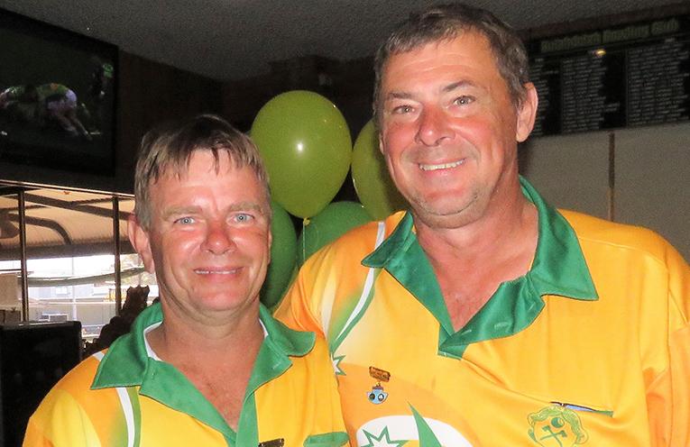 Guy Rowe and Glenn Grainger.