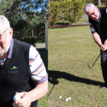 Shoal Bay's Frank Ward returns to golf course with record feat