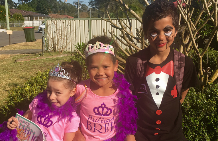 Fancy Nancy, Brilliant Bree and Slappy the dummy enjoyed themselves at Wirreanda's book week parade.