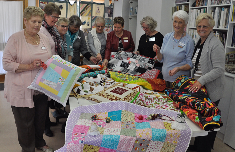 CAKE STALL: Myall Coast Quilters Group.
