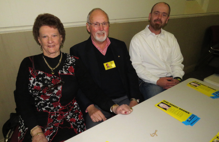Group K: Jan McWilliams, Jim Morwitch and Timothy McLean.