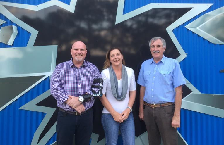 Central Ward's elected Councillors: Chris Doohan, Sarah Smith and Steve Tucker.