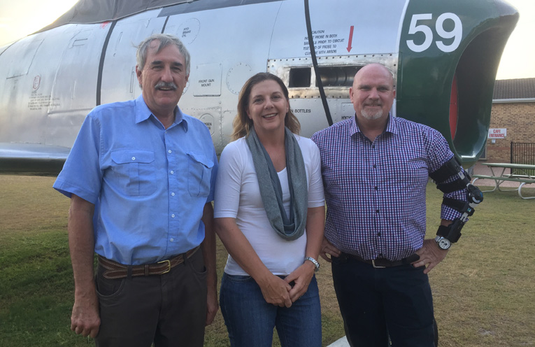 Central Ward's elected Councillors: Steve Tucker, Sarah Smith and Chris Doohan.