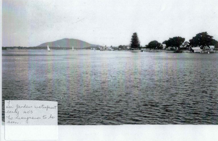 WITT ISLAND: Circa 1940s. Photo Courtesy of Janis Wynn