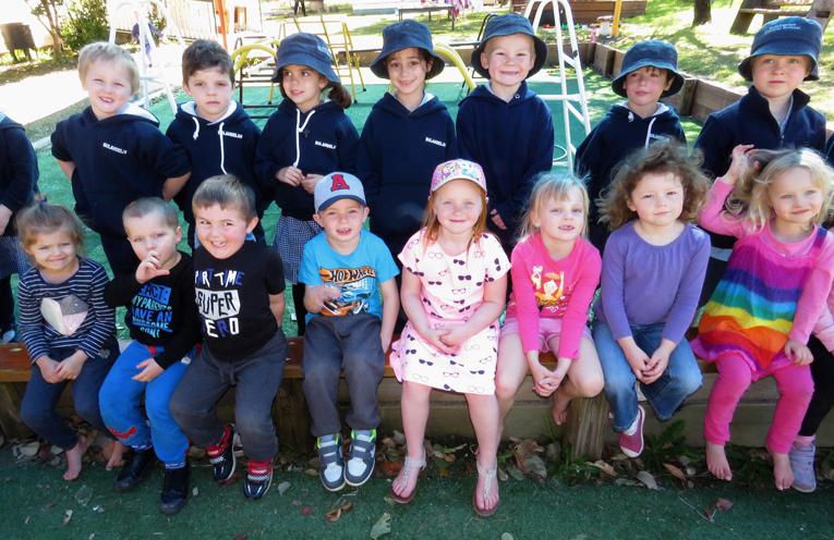 BCS Kindergarten students visit Bulahdelah Preschool.