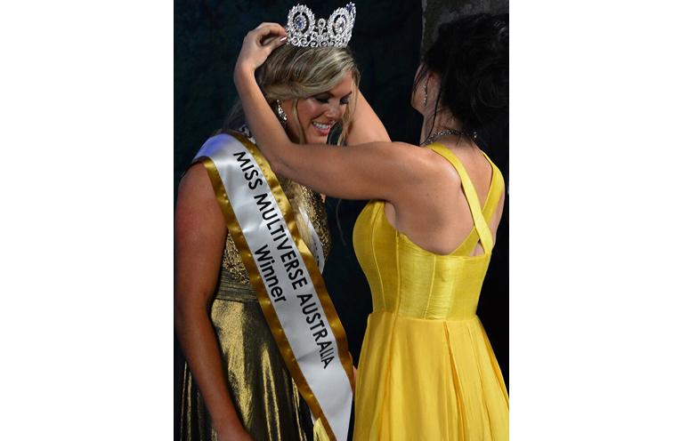 Crowning Moment: Miss Multiverse Australia 2017, Gabrielle Keaton.
