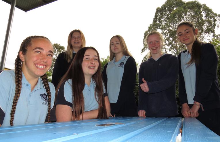 Tahlia Mancini, Anjoli Luxon, Natasha Veith, Taylah Smith, Bianca Clarke and Katerina Poniris have qualified for their HSC.