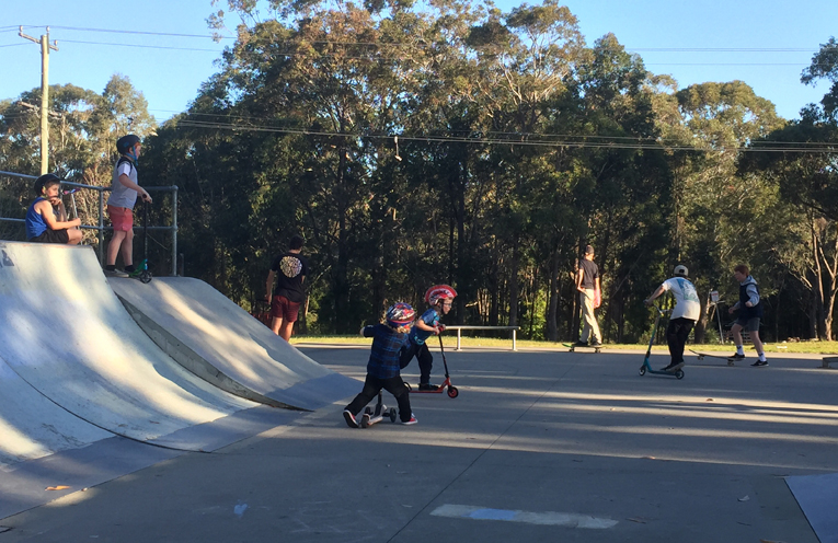 Medowie Skate Park is in dire need of an upgrade for the many young people who frequent it.