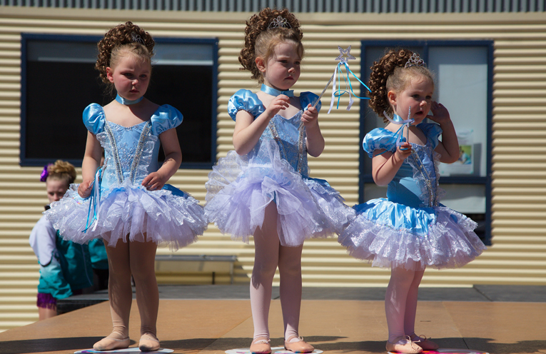 Baby Cinderella's from Dance n Dazzle. Photo by Pete Neville