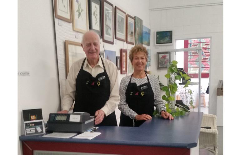 Vic Marden and Myra Bailey.