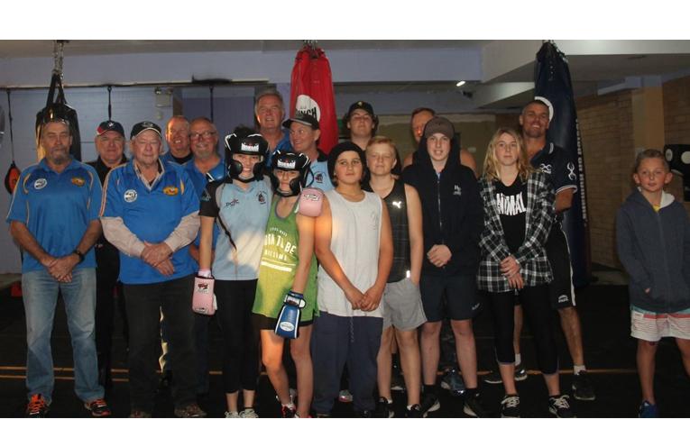 ULYSSES DONATION: PCYC Gym at Hawks Nest.