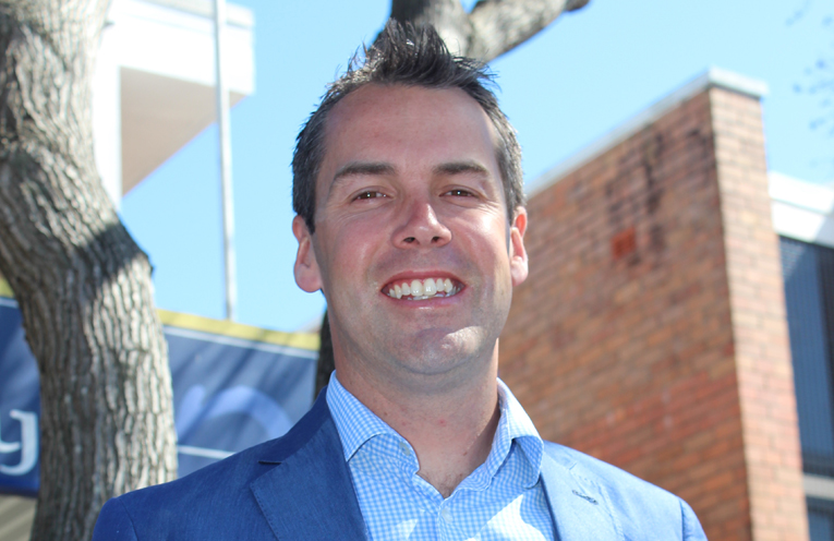 Port Stephens' new mayor, Ryan Palmer.