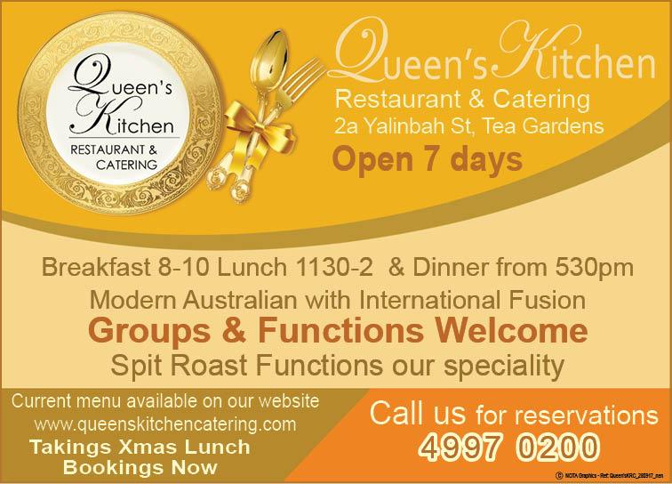 Queens Kitchen Restaurant & Catering