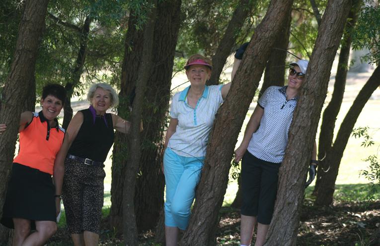 Pam MacDonald (Castle Hill), Lynda Stuart (Pacific Dunes), Janelle Tolhurst (Nelson Bay), Sue Campbell (North Ryde).