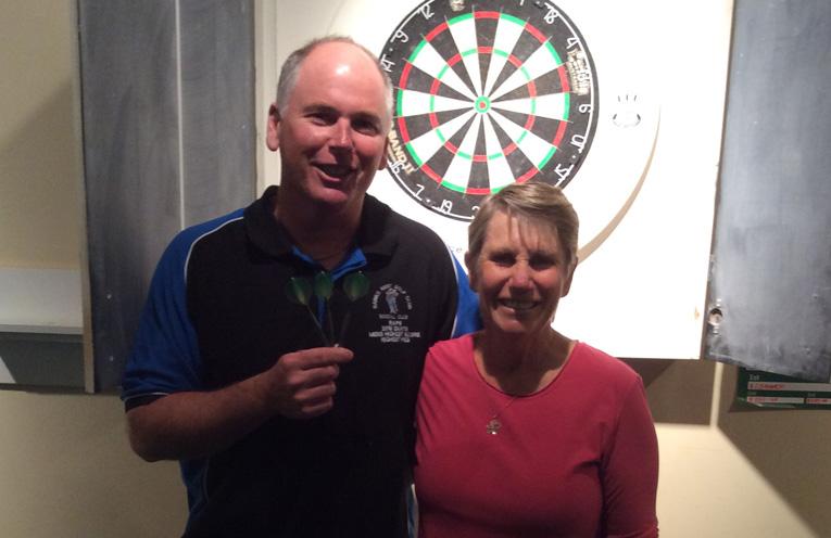 Darren Rapley and Christine McKenzie.