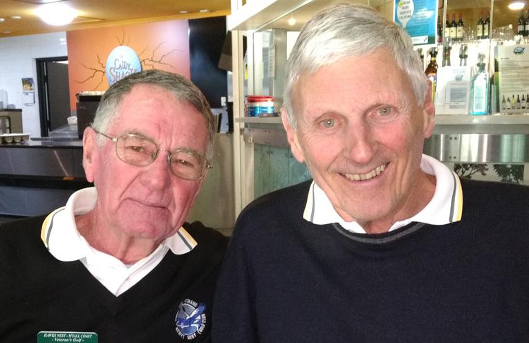 Winners Breton Gibbs and Graham Kelly.