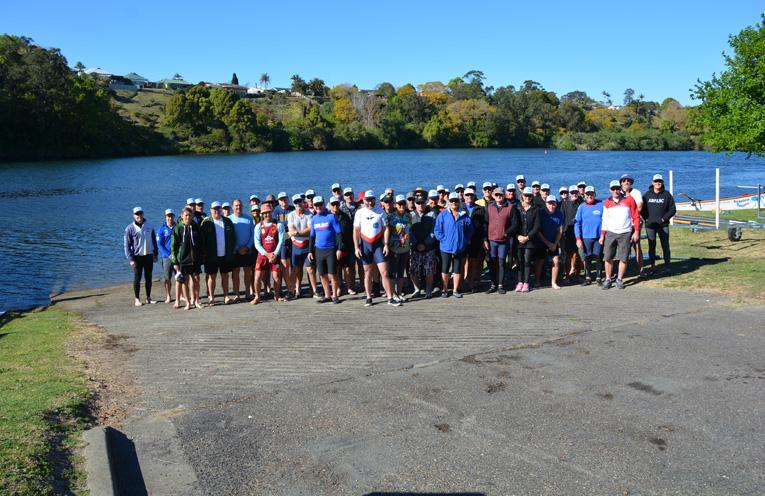 SURFBOAT CREWS: Australian River Rowers Event.