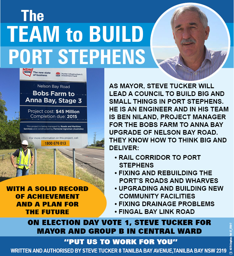 Steve Tucker - Election Candidate