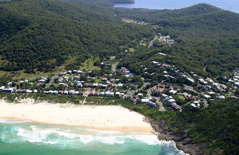 Blueys Beach is nestled amongst an ecologically significant area.